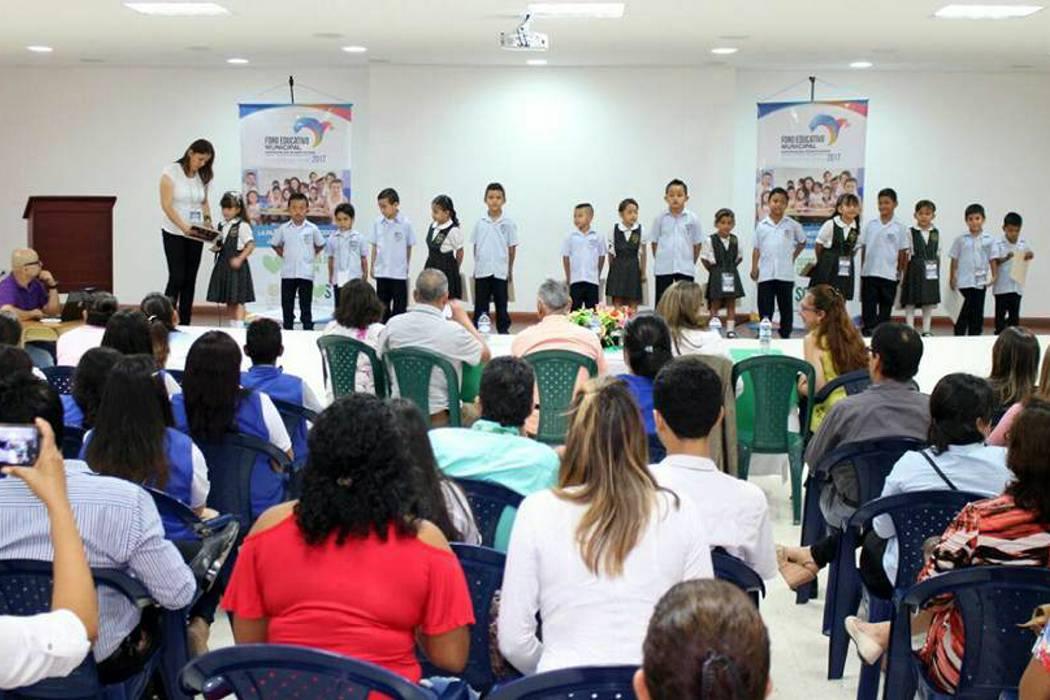 Los niños del municipio fueron protagonistas del foro educativo