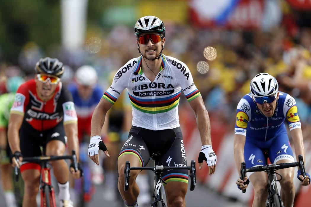 Peter Sagan gana por tercera vez consecutiva el Mundial de ciclismo de ruta