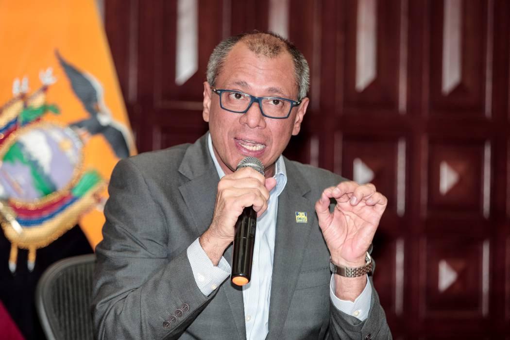 Ordenan prisión preventiva contra vicepresidente de Ecuador por caso Odebrecht