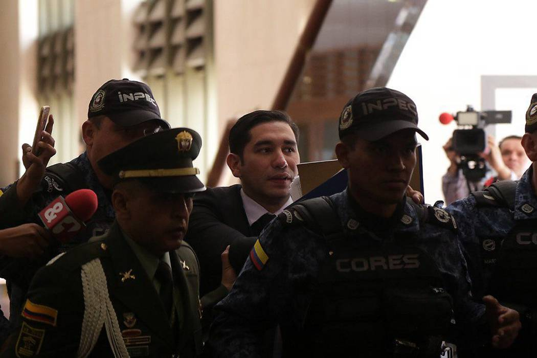 Luis Gustavo Moreno fue trasladado a una guarnición militar