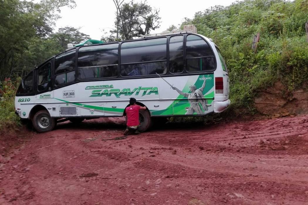 Hoy harán mantenimiento  vía del Carure en Chima