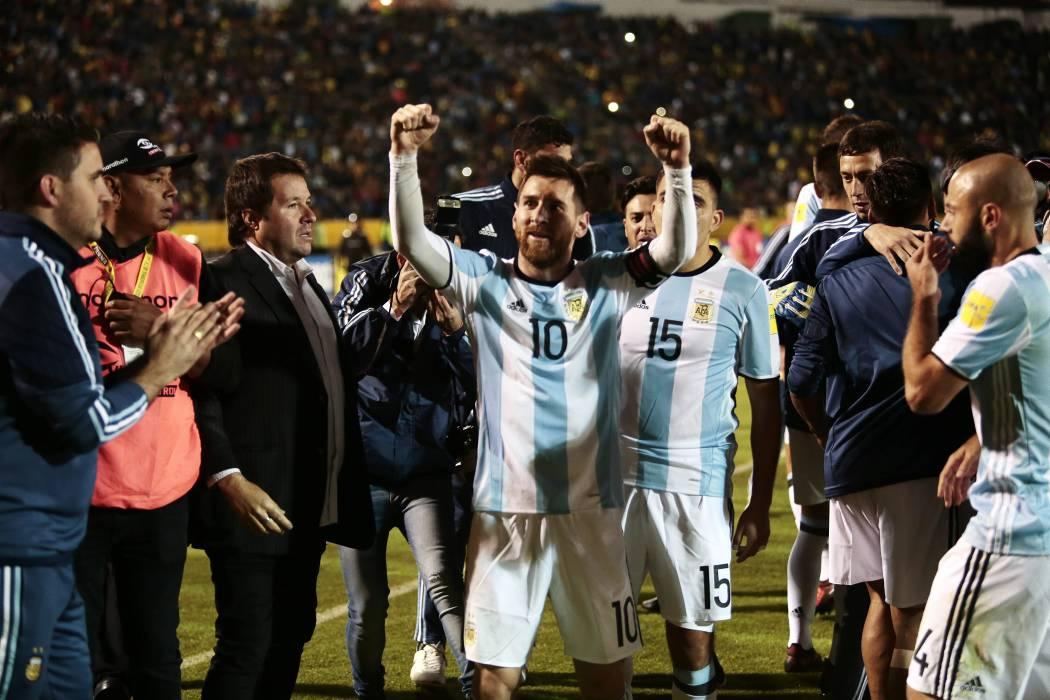Argentina, de la mano de Lionel Messi, logró cupo directo a Rusia 2018