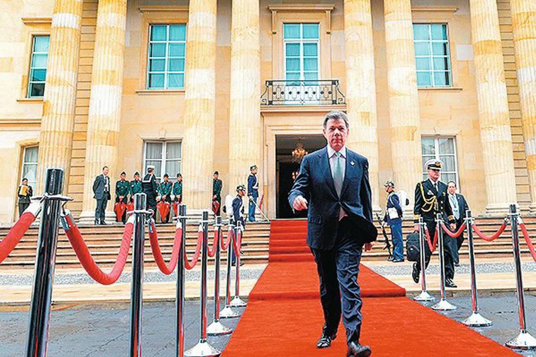 El 'jalón de orejas' de Santos al presidente de la Cámara