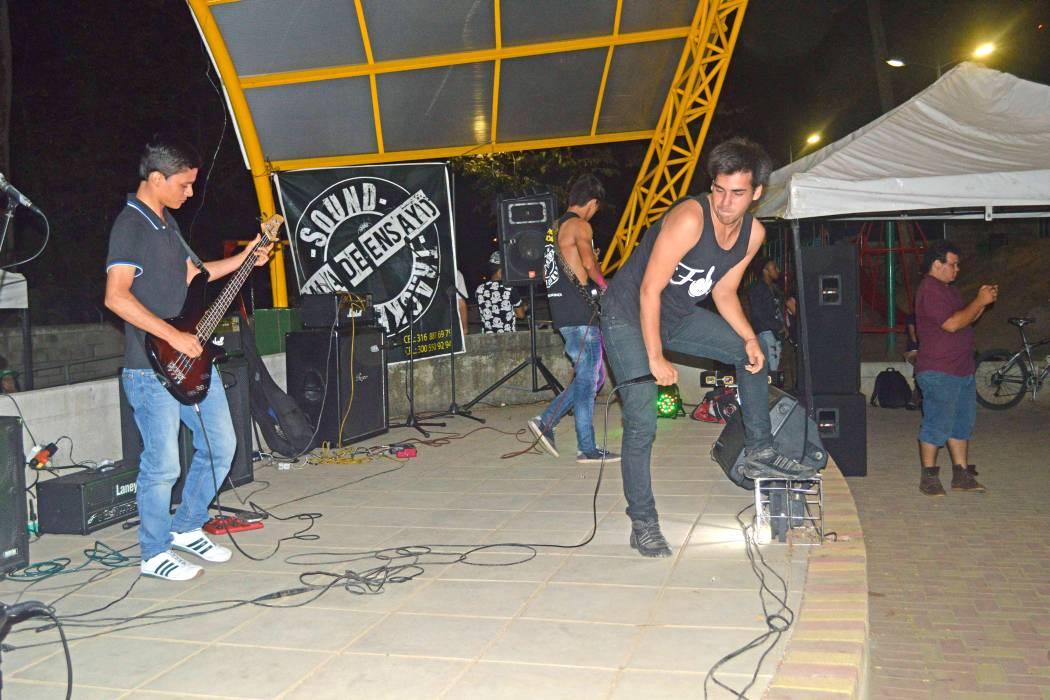 Casa Paragüitas, de puertas abiertas para el festival de rock