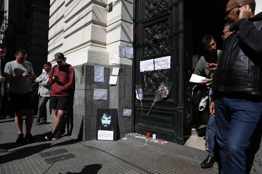 Comienza autopsia al cuerpo hallado  en Argentina para saber si es Maldonado