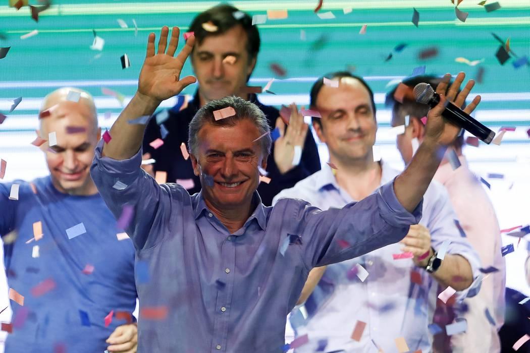 Macri y su partido arrasaron en elecciones legislativas en Argentina