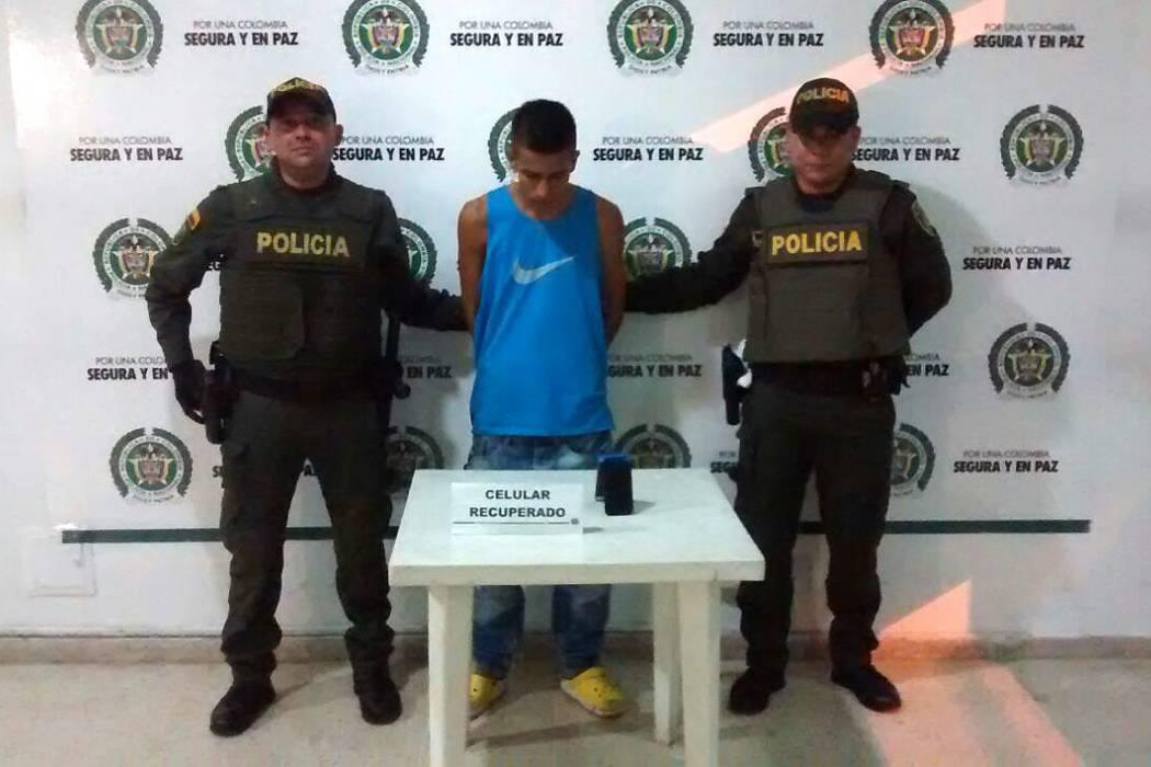 Capturado alias 'Brayan' tras un hurto con arma blanca en Bucaramanga