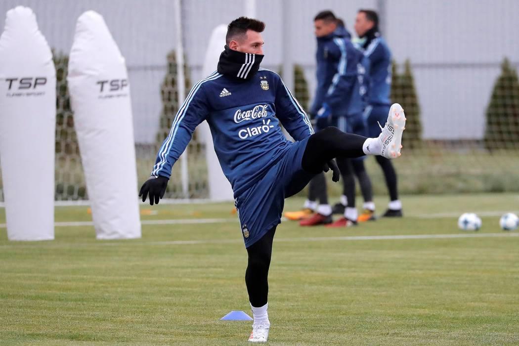 """""""No me gustaría cruzarme con España"""": Lionel Messi"""