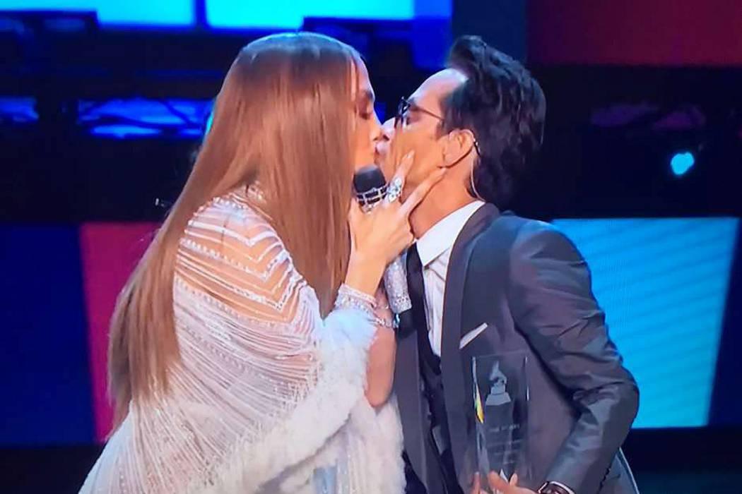 Shannon habló del  famoso beso entre Marc  Anthony y Jennifer López