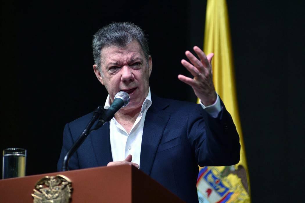 """""""Mi peor pesadilla es Venezuela"""": Juan Manuel Santos en Londres"""