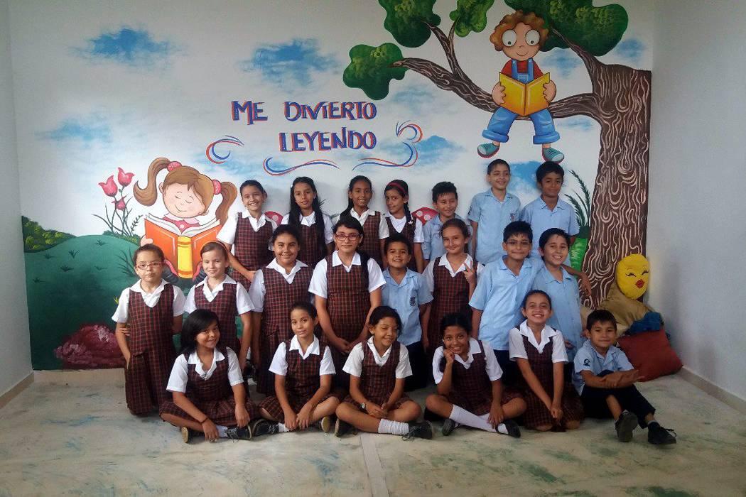 Comunidad educativa  gestionó sala de lectura