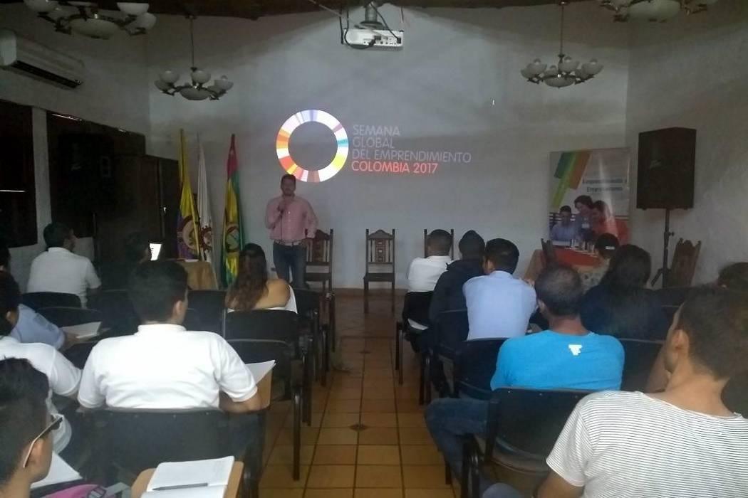 Semana Global de Emprendimiento en Colombia organizada por el Sena