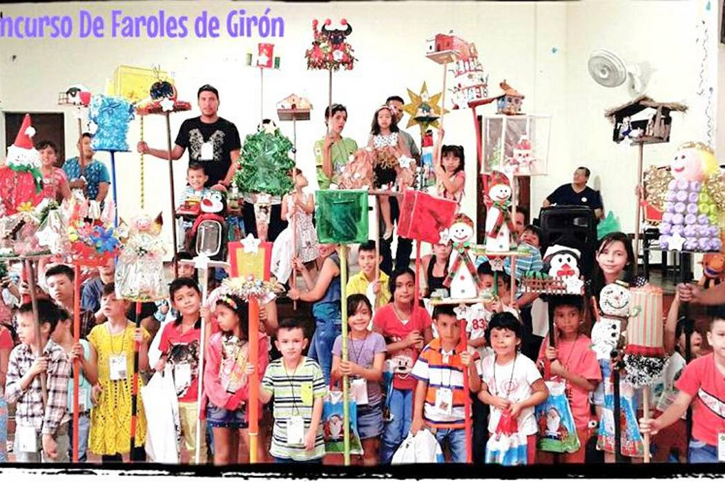 La Navidad llegó al municipio con el Concurso de Faroles