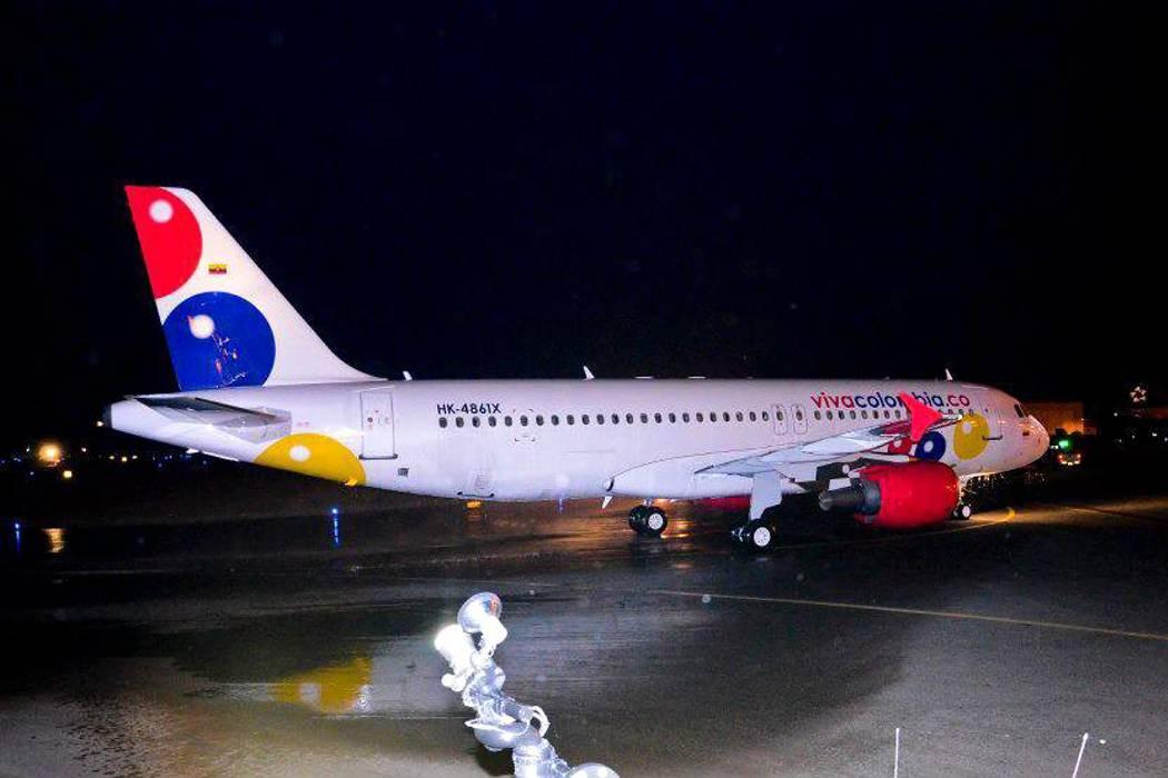Pánico por rayo que cayó sobre avión de Viva Colombia en pleno vuelo