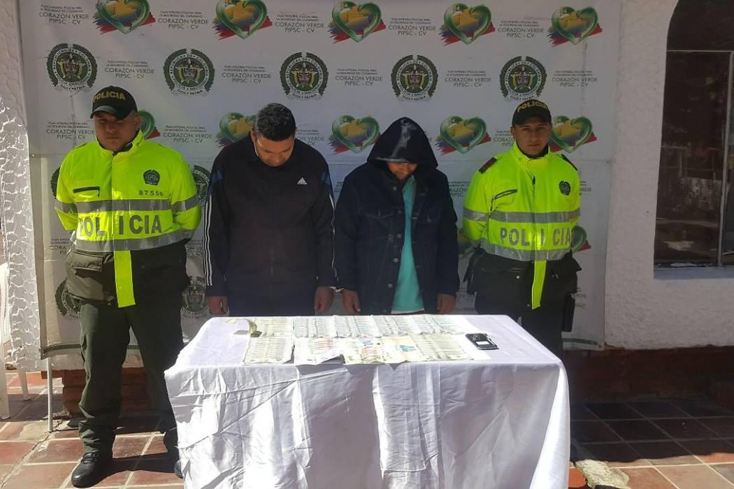 Capturan dos hombres señalados de hurtar $7.500 dólares en Bucaramanga