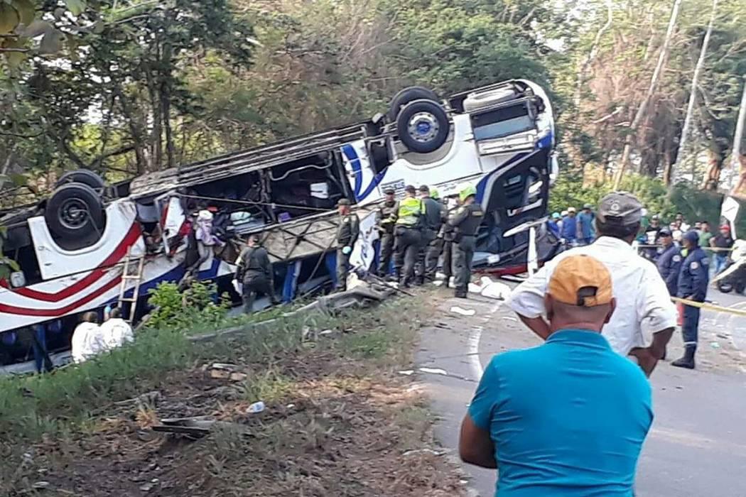 Cinco muertos dejó accidente en Córdoba