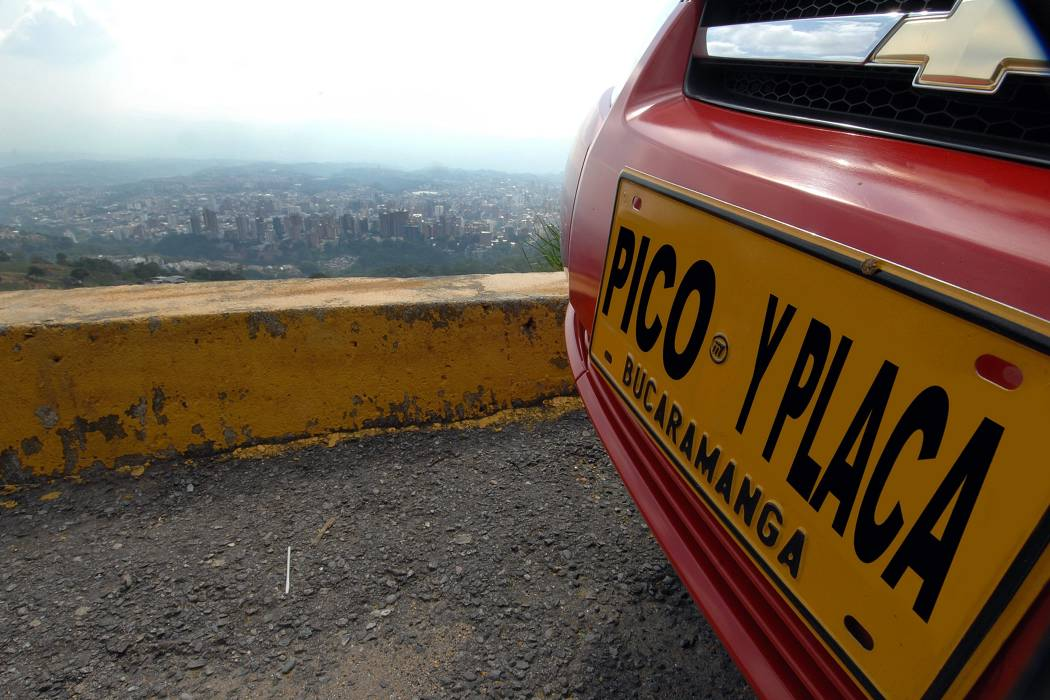Propuesta de exoneración de Pico y Placa en Bucaramanga 'levanta ampollas'