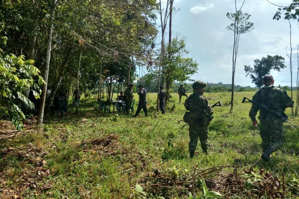 Capturados disidentes de las Farc en Nariño