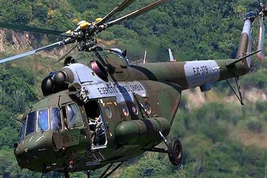Confirman muerte de 10 militares en helicóptero caído en Segovia
