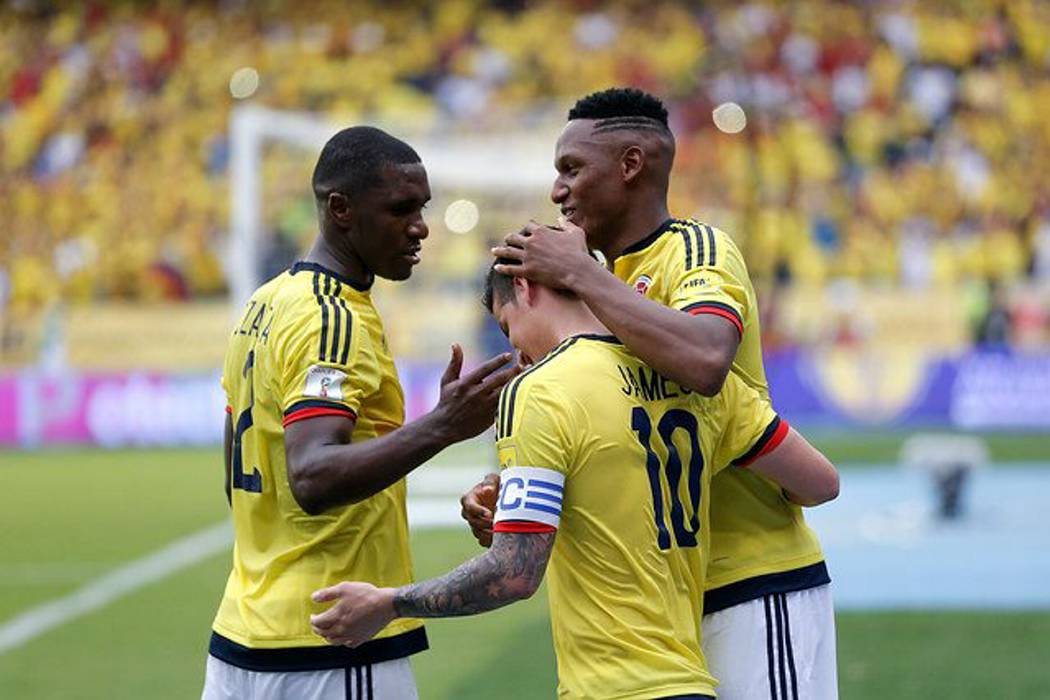 Colombia se ubica en el puesto 13 de la clasificación de la Fifa