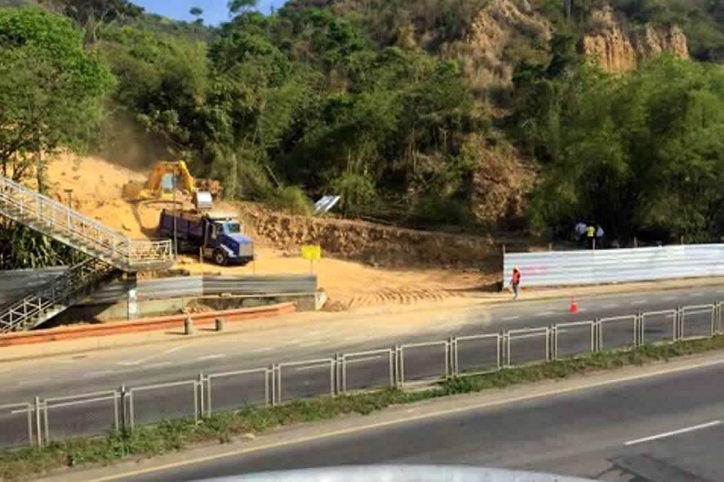 Investigan obra en límites de un área protegida de Bucaramanga