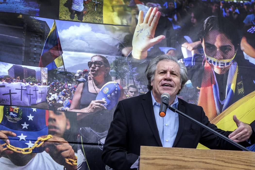 Almagro: faltan más sanciones contra el régimen venezolano