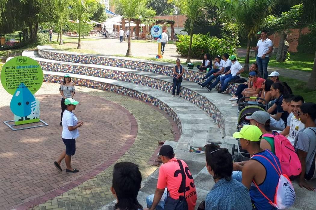 En Acualago iniciaron las Rutas Ambientales