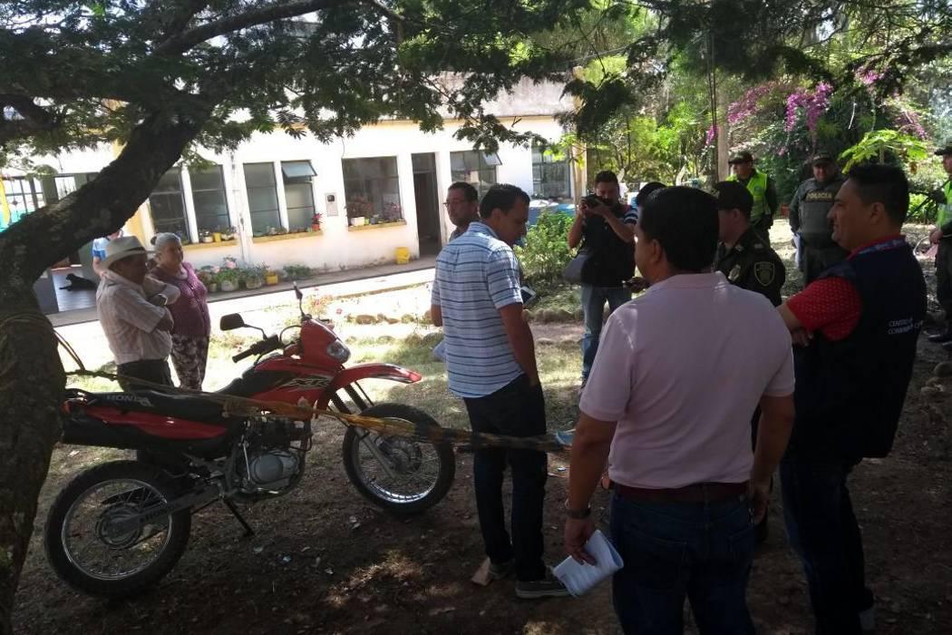 Inspección de Policía de San Gil dio un día más para desalojar