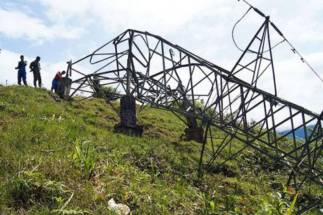 Más de 20 mil guaviarenses sin electricidad por atentado