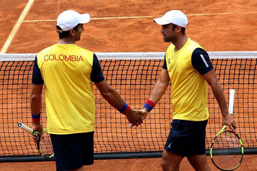 Colombia y Brasil se enfrentarán en la Copa Davis en Barranquilla
