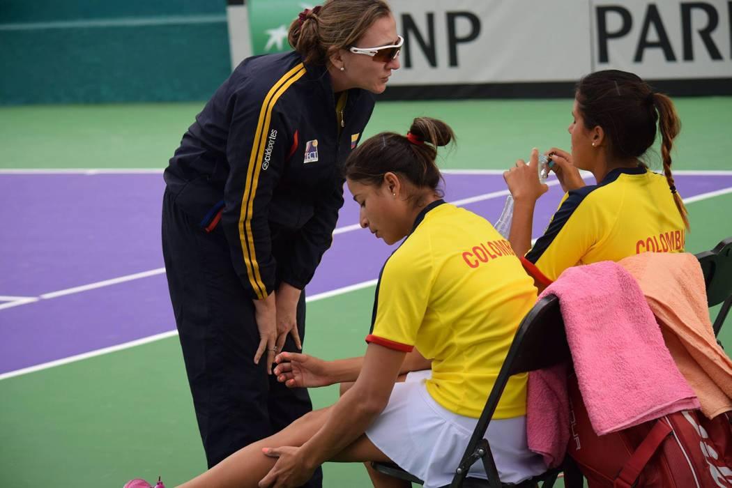 Colombia debuta ante Paraguay en la Copa Federación de Tenis