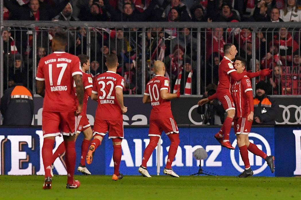 Bayern Múnich sigue imparable en Alemania