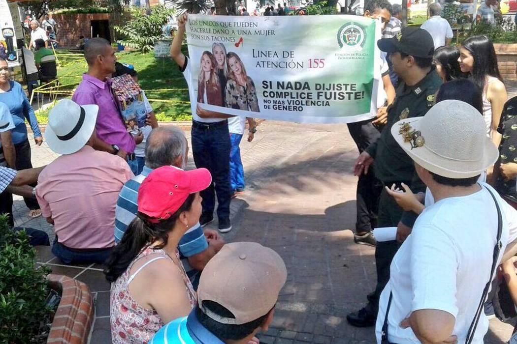 Policía y comunidad, unidos contra casos de violencia hacia la mujer