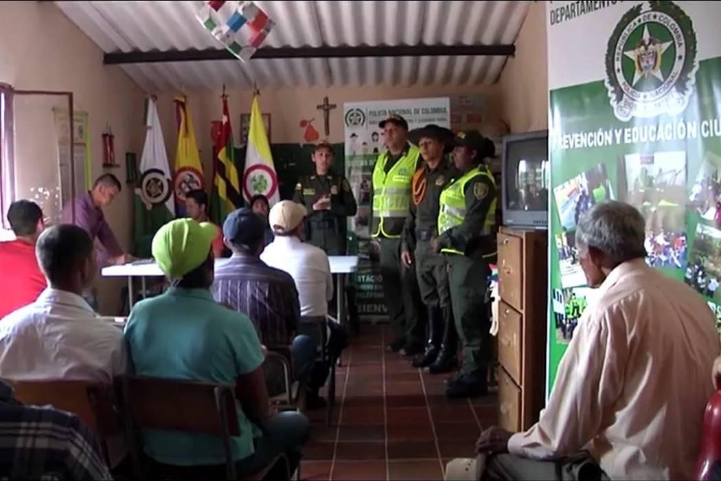 Encuentro comunitario en la Retirada de Oiba