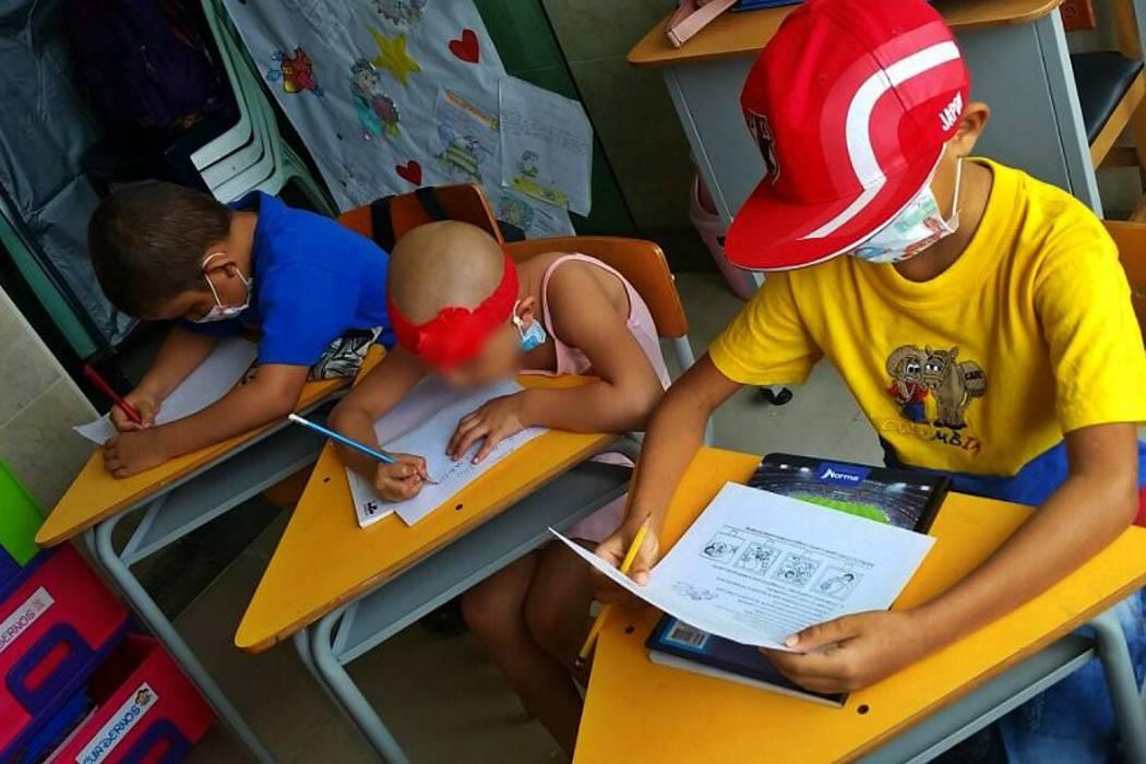Buscan padrinos para construir salón de clases para niños con cáncer en Bucaramanga
