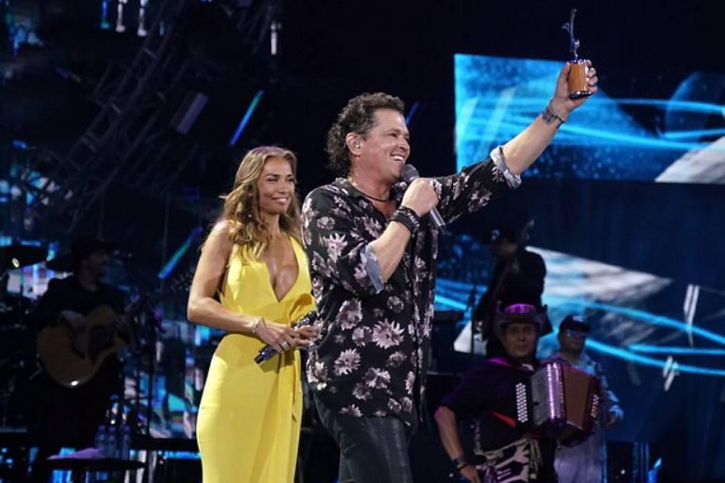 Carlos Vives y Alejandra  Azcárate brillaron en el  Festival de Viña del Mar