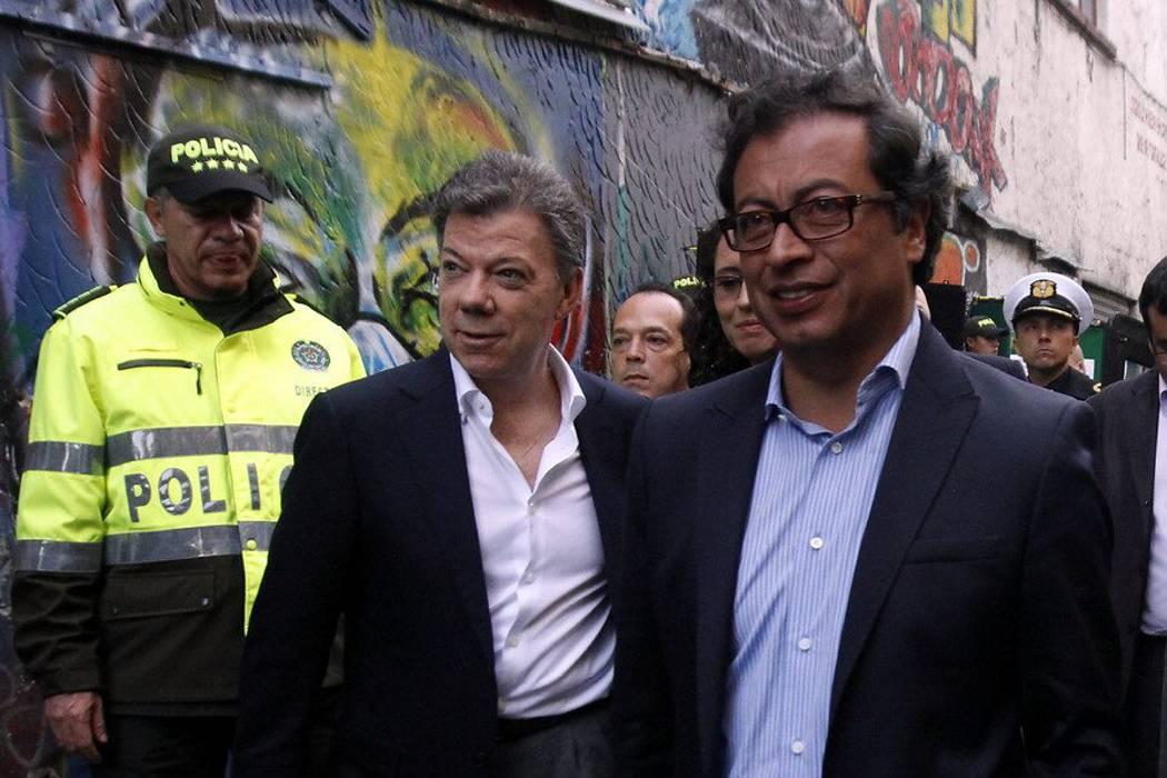 Presidente Santos dijo que Gustavo Petro se
