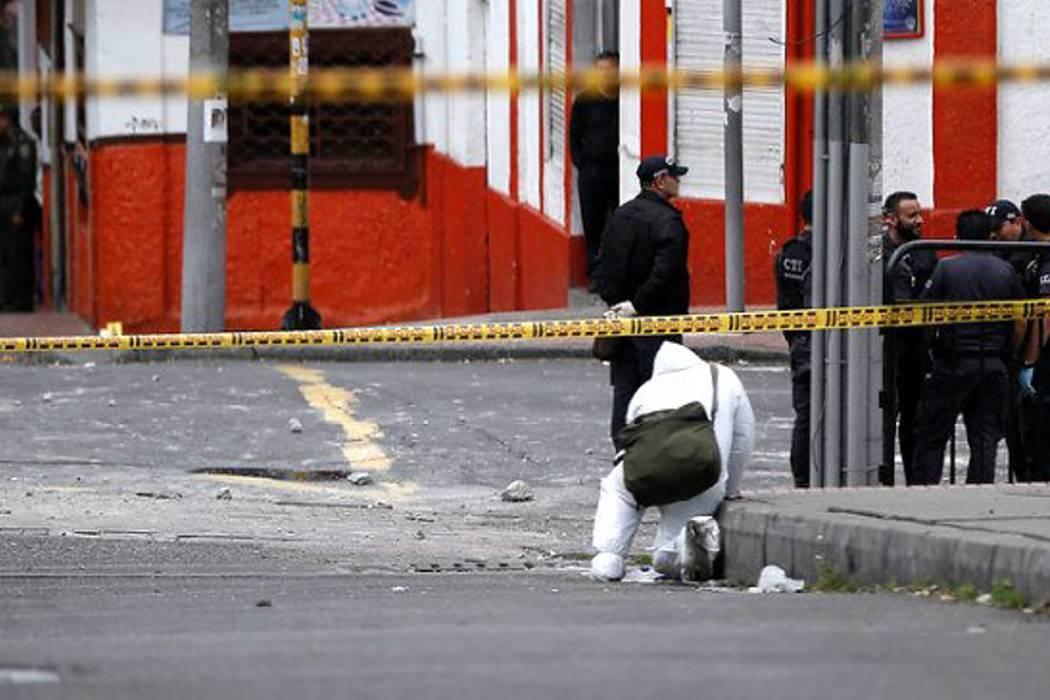 Explosión al norte de Bogotá dejó tres personas heridas