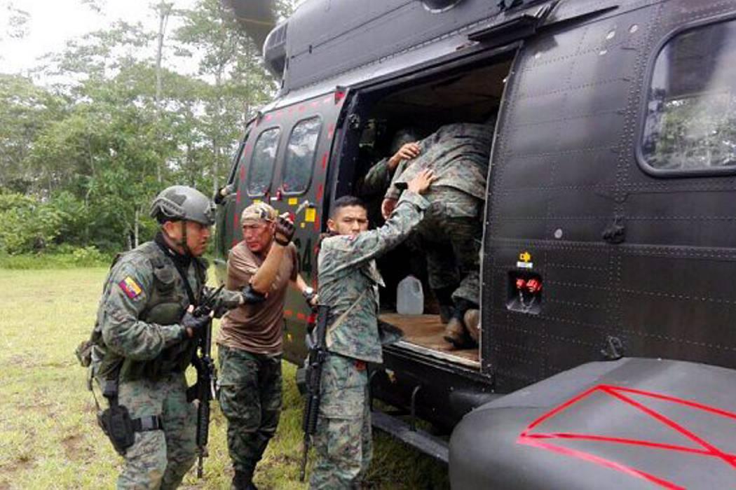 Atentado en la frontera Colombia-Ecuador dejó tres uniformados muertos