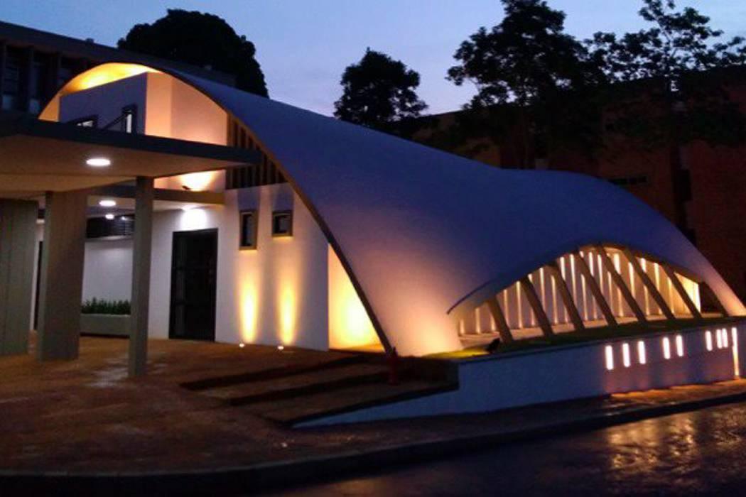 Aula Máxima en la UIS, 'Patrimonio  de la Nación', presenta nueva imagen Antes Ahora