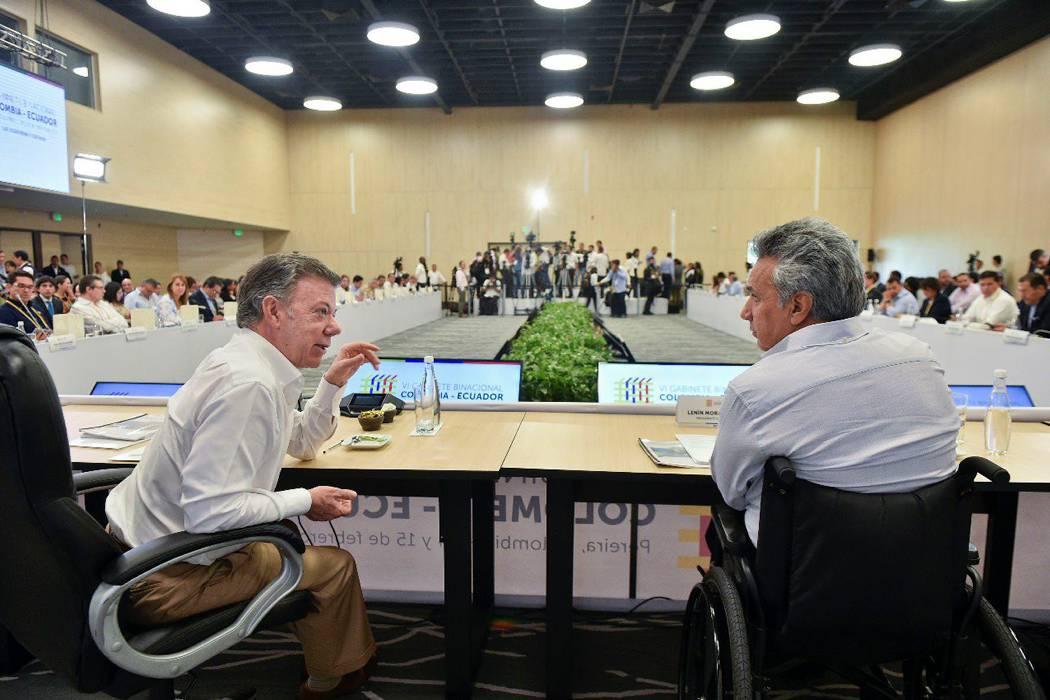Colombia y Ecuador se unen contra el crimen en la frontera
