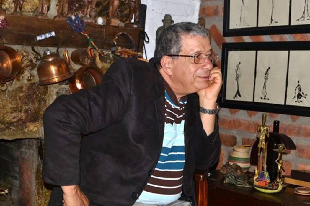 El escritor Gonzalo España en el Socorro