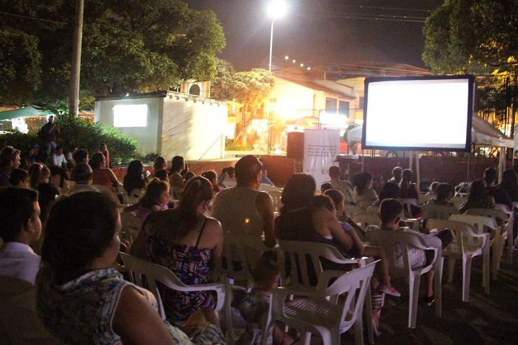 Masiva participación en el 'Cine Familiar'
