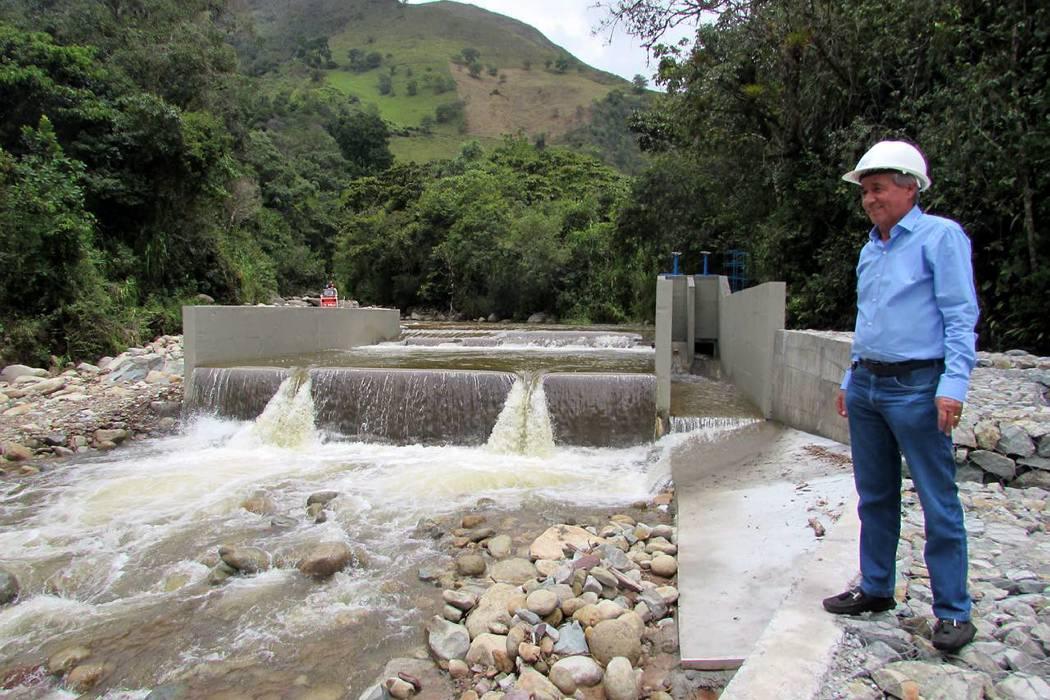El acueducto de la Cinco Mil registra un avance del 80%