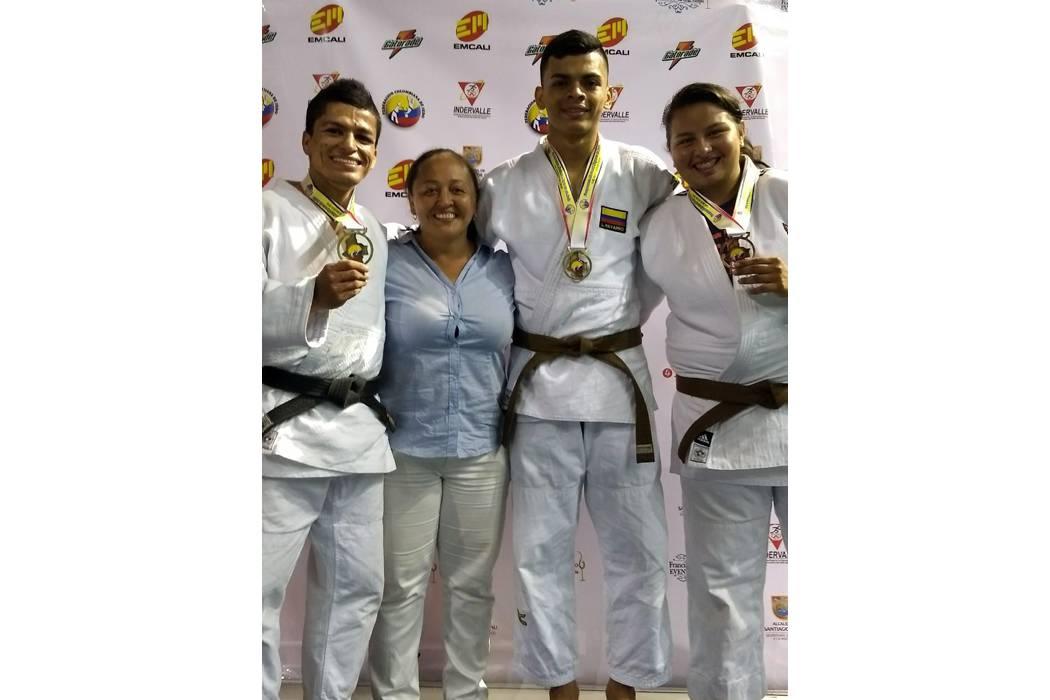 El judo santandereano se destacó en el Nacional de Cali