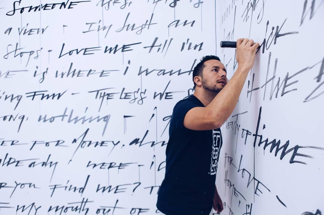 Sangileño participó en la Bienal de Caligrafía en Emiratos Árabes Unidos