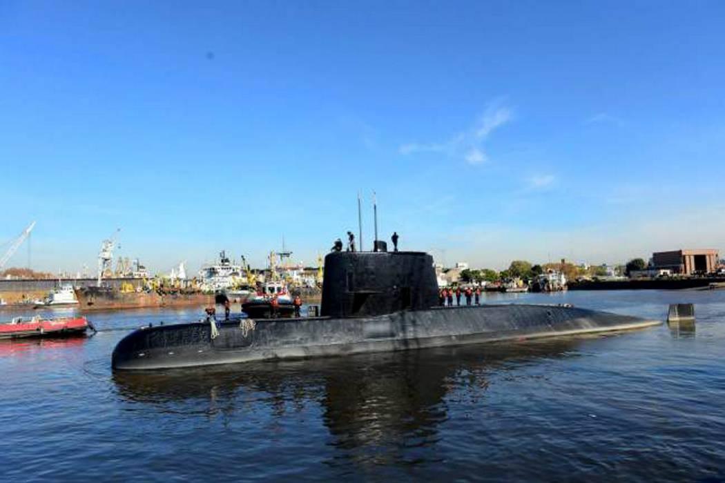 Cinco meses sin rastro del submarino argentino