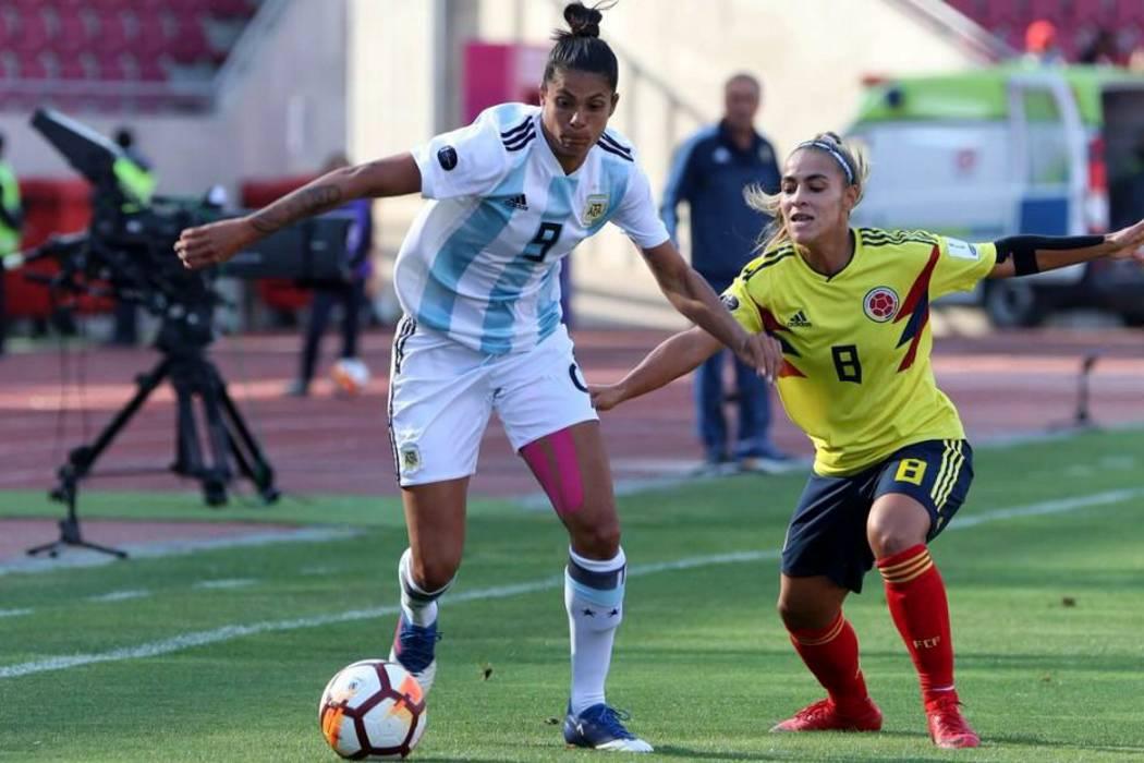Colombia perdió 1-3 con Argentina en la Copa América Femenina
