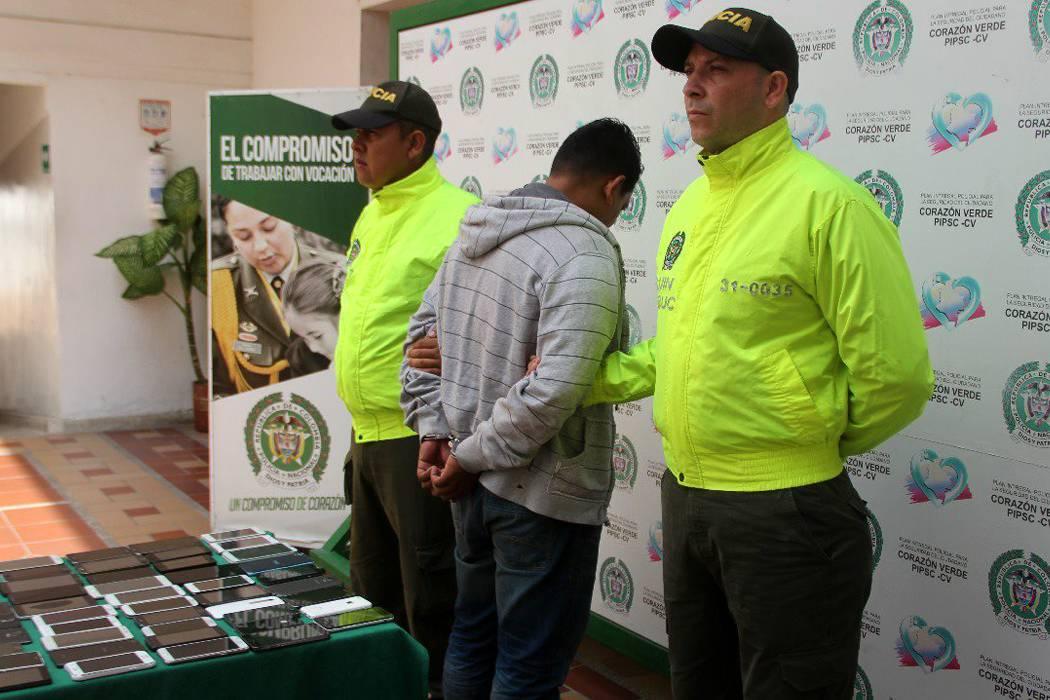 Capturado el 'zar' de los celulares hurtados en Bucaramanga