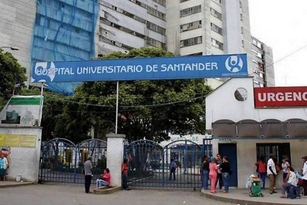 Cartera del Hospital Universitario de Santander llega a los $180 mil millones